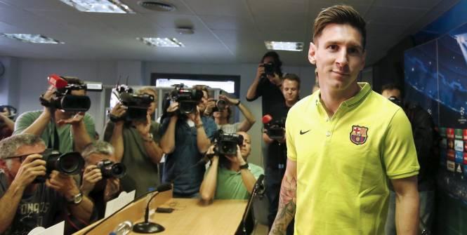 C1-1/2 finale aller : Messi avertit