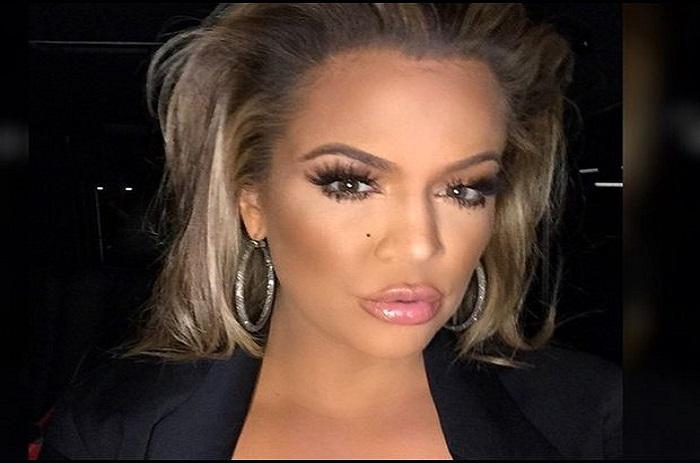 PHOTO Khloé Kardashian, ultra maquillée, est méconnaissable!