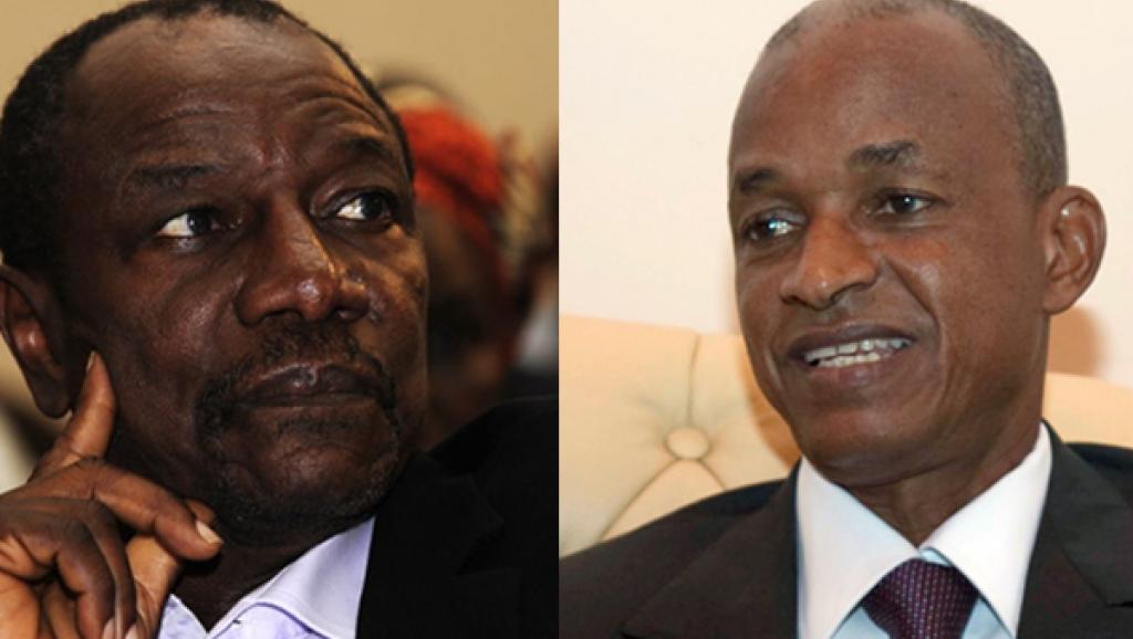 Le dernier tête-à-tête politique entre Alpha Condé (G) et Cellou Dalein Diallo (D) remonte à avril 2012. AFP/Reuters