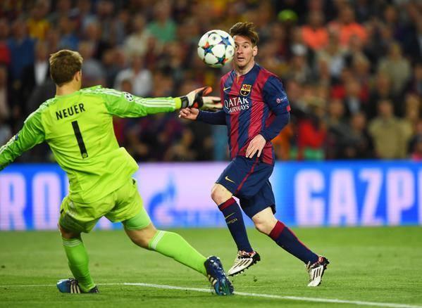 """LDC - Après avoir explosé le Bayern, Messi ne s'enflamme pas: """"Un match difficile à Munich"""""""