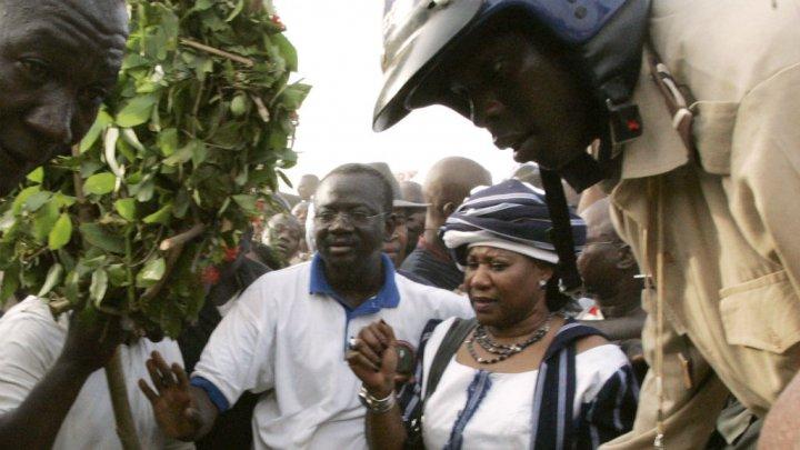 La veuve de l'ex-président Sankara entendue par la justice burkinabè