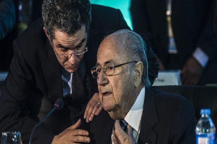 FIFA : Blatter joue les médiateurs entre les Fédérations de Palestine et d'Israël