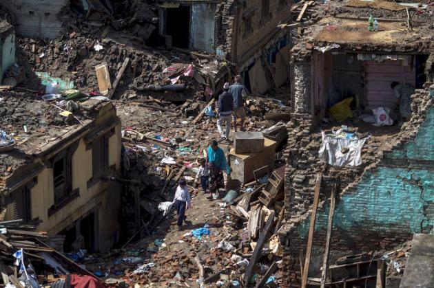 Urgent Nouveau tremblement de terre au Népal