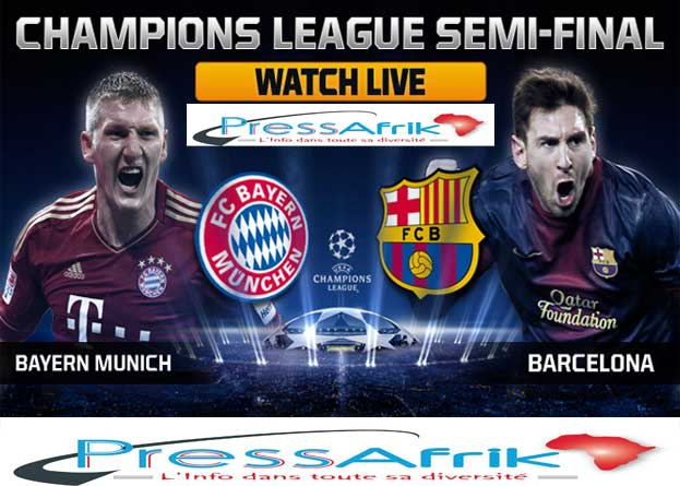 C1-1/2 retour: Bayern face à Messi