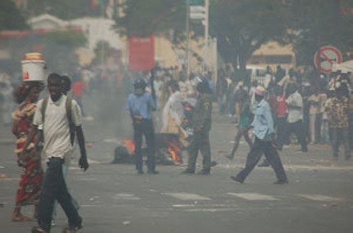 Thiès : Les policiers dispersent le sit-in des étudiants