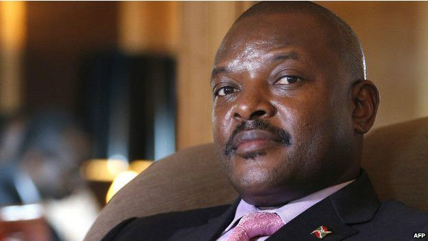Cela faisait plusieurs jours qu'une partie de la population manifestait contre un troisième mandat du président Pierre Nkurunziza.
