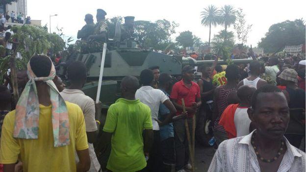 photo de Cyriac Muhawenayo journaliste à la BBC