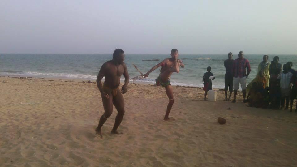Photos Stromae en mode lutteur