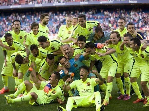 Liga : le Barça champion pour la 23e fois