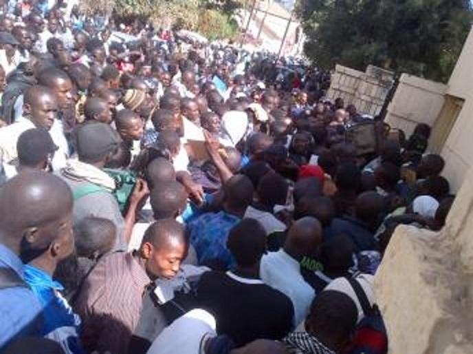 De Ziguinchor vers le Palais de la République, le nombre des étudiants a grossi