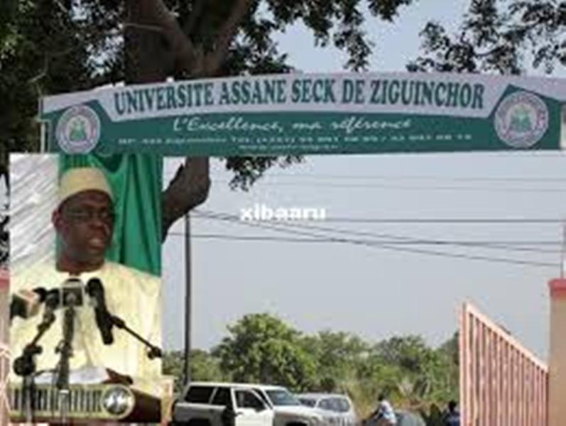 Dernière minute Marche des étudiants vers le Palais: l'imam de Bignona intervient