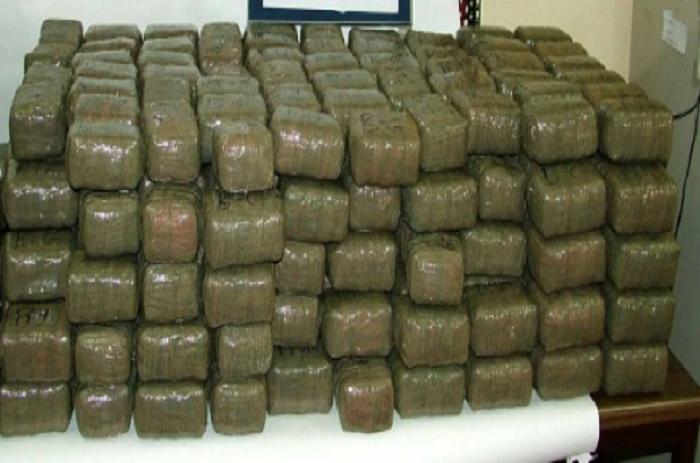 Trafic de stupéfiant : L'Ocrtis met la met sur 1,10 tonne de drogue.