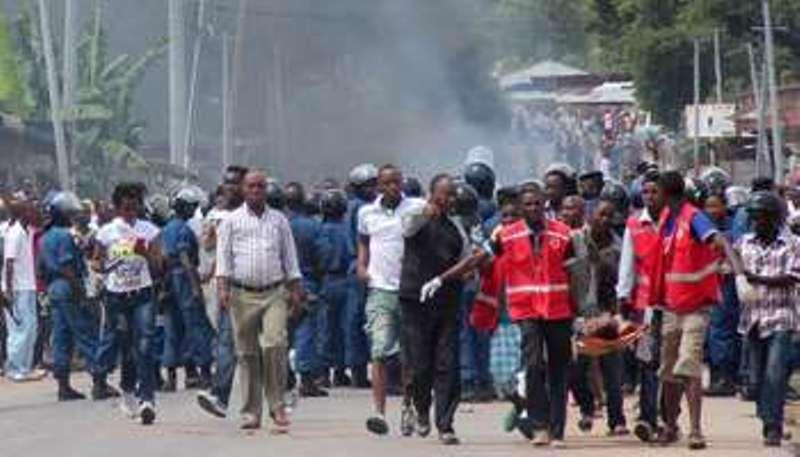 Burundi: la manifestation anti-Nkurunziza ne faiblit pas