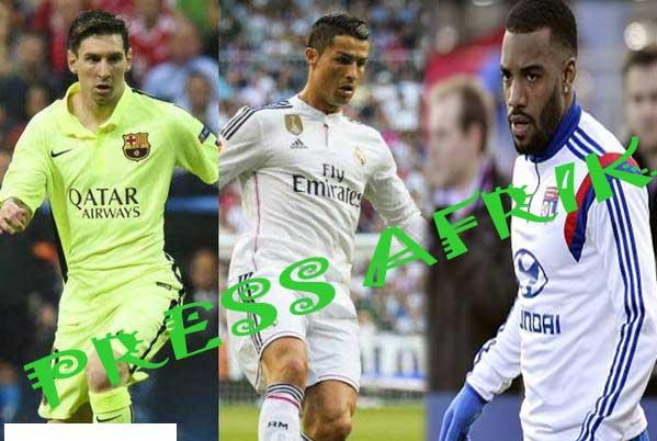 Messi, Ronaldo, Lacazette...: Top 10 des meilleurs attaquants de la saison