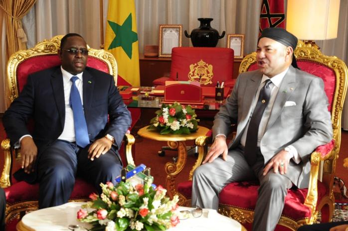 L'arrivée à Dakar du Roi du Maroc