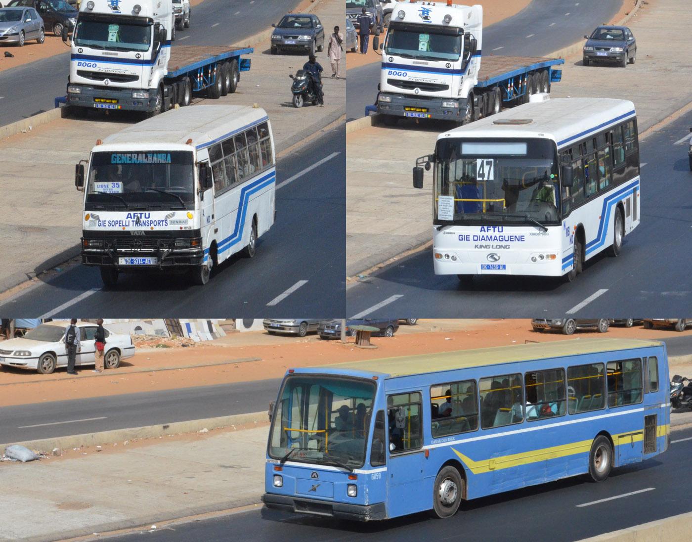 Mobilité urbaine à Dakar : 9 millions de déplacements quotidiens