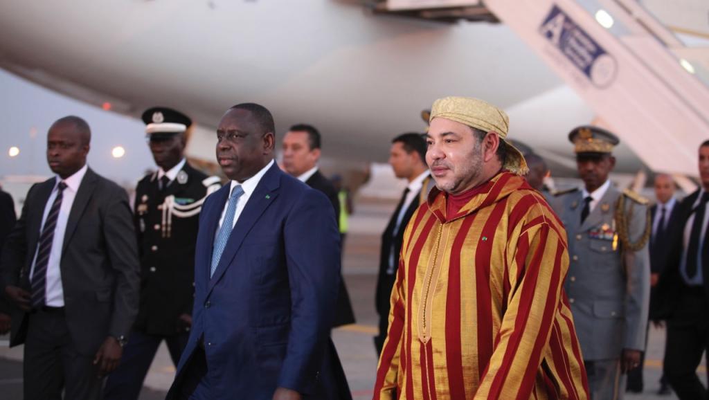 Dakar : Mohammed VI reçu en grande pompe