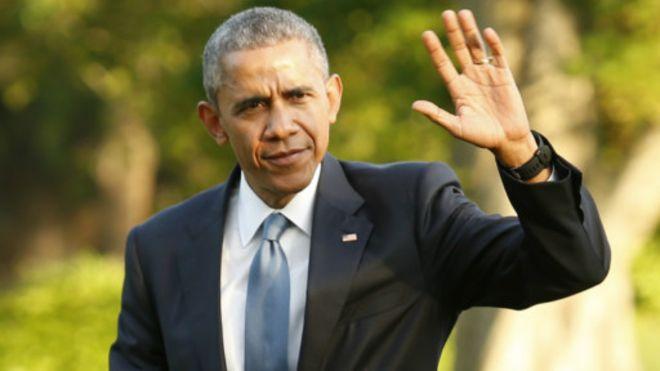 Le président Obama de retour à la Maison Blanche, le 14 mai, après une réunion avec les dirigeants du Conseil du Golfe à Camp David.