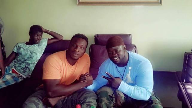 Lutte sénégalaise : Eumeu Sene et Ama Baldé font la paix