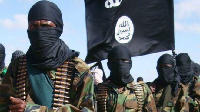 Des combattants de la milice islamiste somalienne al-Shahab.