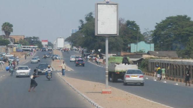 Une rue de Bujumbura, la capitale burundaise (photo d'archives).