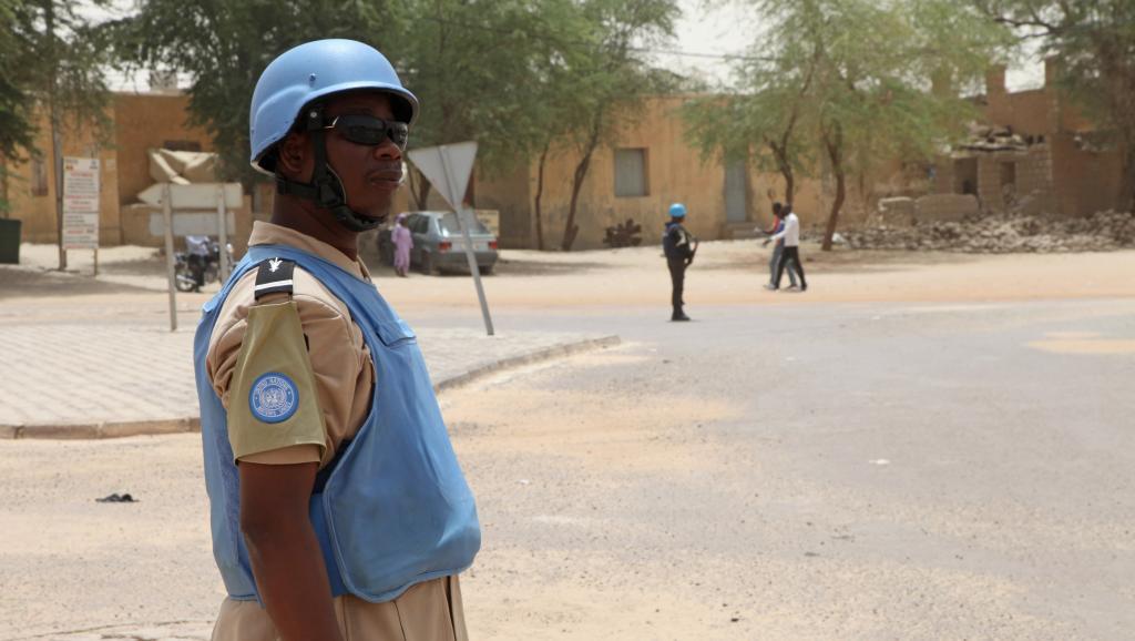 Mali: mort d'un casque bleu