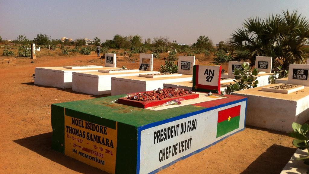 Burkina Faso : le corps de Thomas Sankara exhumé