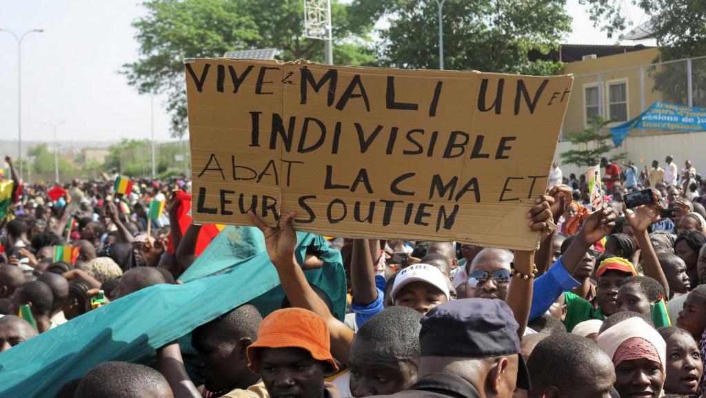 Mali: manifestation de soutien à l'accord d'Alger dans la capitale