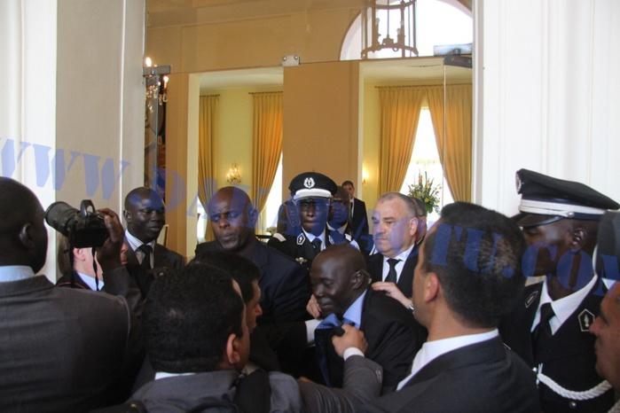 Visite du Roi Mohamed VI au Sénégal: Une bagarre entre éléments de sécurité entache la fête