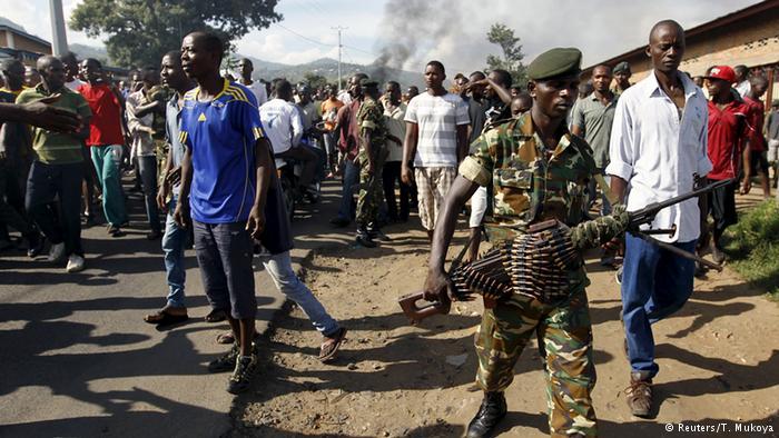 Burundi : Reprise des manifestations contre la candidature de Nkurunziza