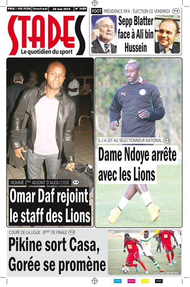 Equipe nationale : Dame Ndoye prend sa retraite