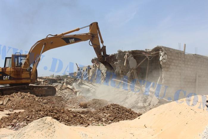 Destruction de constructions à l'aéroport LSS : Le procureur réclame des arrestations