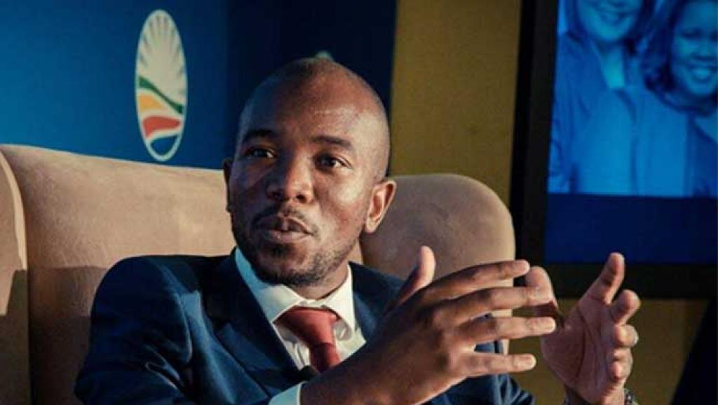 Mmusi Maimane, le leader de l'Alliance démocratique, devrait demander à l'Assemblée de rejeter le rapport du ministre de la Police.