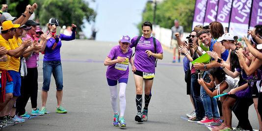 Une Américaine de 92 ans et 65 jours boucle un marathon