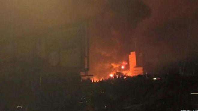 93 morts dans une explosion au Ghana