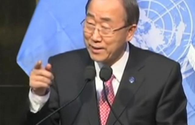 """Journée mondiale de l'environnement: Ban Ki Moon appelle à  une """"prise de conscience de notre empreinte écologique"""""""