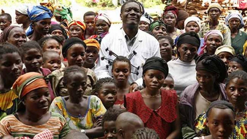 Le gynécologue congolais Denis Mukwege qui a obtenu le Prix Sakharov 2014 pour son travail auprès des femmes victimes de violences sexuelles lors de conflits armés en RDC. Photo Radio Okapi/Archives