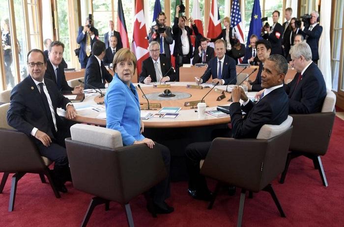 Le G7 maintient sa pression sur la Russie
