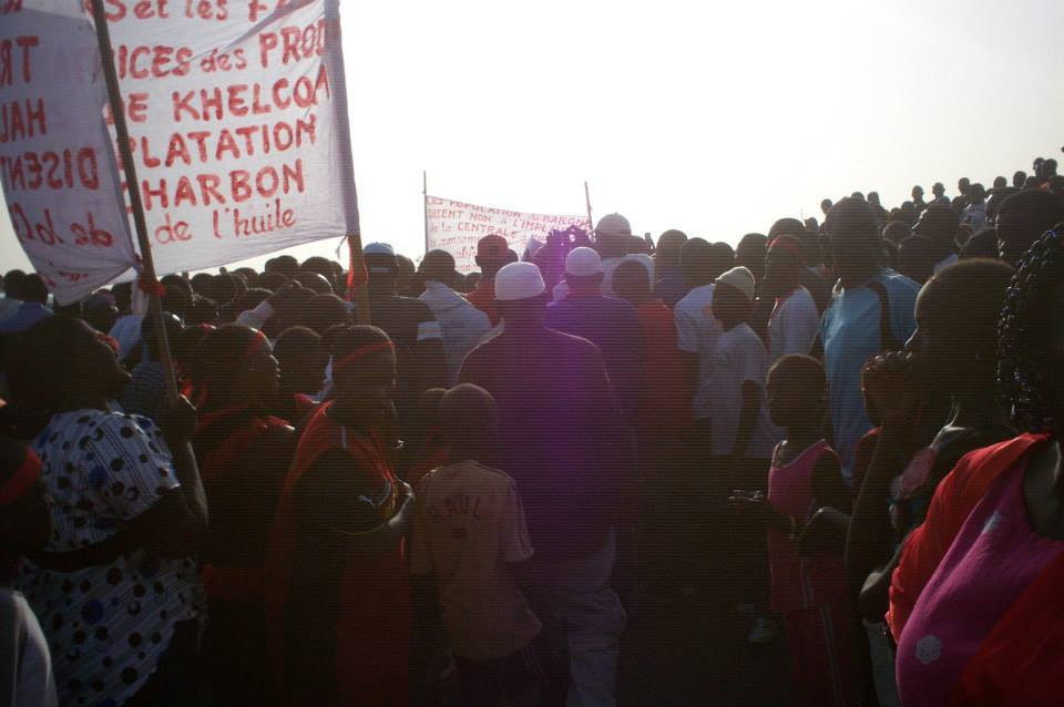 Bargny : Les populations s'opposent à la construction des centrales à charbon.