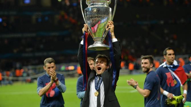 Barcelone : Luis Enrique prolonge jusqu'en 2017