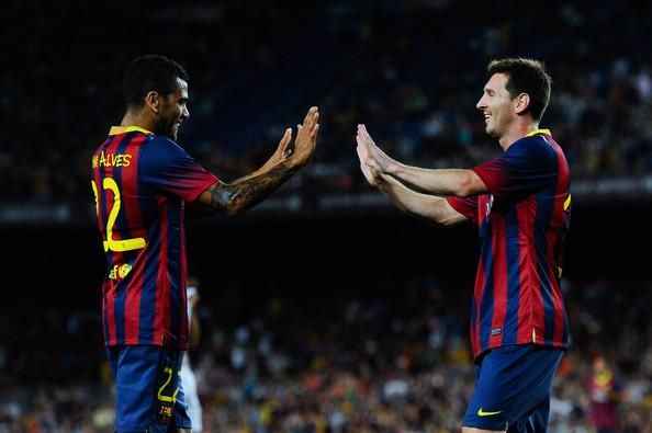 """Daniel Alves : """" Ce que Messi m'a dit..."""""""