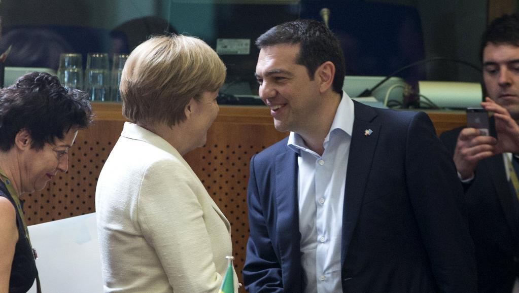 Tsipras, Merkel et Hollande font le point en marge du sommet UE-CELAC