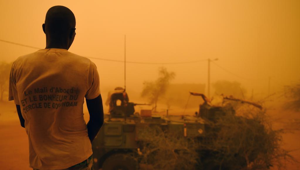 En temps normal les jihadistes sont basés dans le nord du pays, notamment dans la région de Tombouctou, où forces françaises et maliennes coopérent, comme ici lors de l'opération «La Madine 3». AFP PHOTO / PHILIPPE DESMAZES