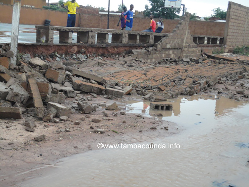 Tambacounda: la pluie tue une personne