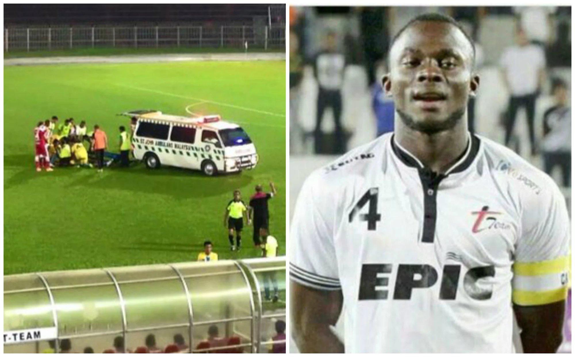 Malaisie: un footballeur nigérian décède en plein match