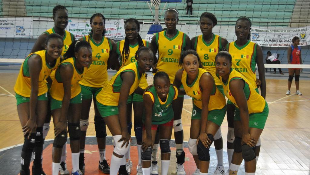 CAN de Volley dames: le Sénégal échoue en demie-finale