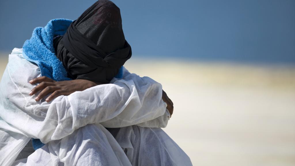 Il vient juste de débarquer à Augusta, en Italie, le 17 juin 2015. REUTERS/Antonio Parrinello