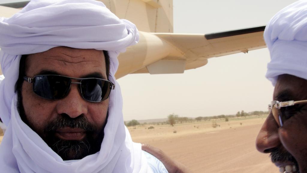 Iyad Ag Ghali, leader d'Ansar Dine, dont le drapeau a été retrouvé à Misséni, a été membre de la secte Dawa, soupçonnée aujourd'hui d'être derrière l'attaque