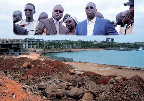 Construction d'un show room sur le domaine maritime : Macky ordonne l'arrêt des travaux de Collé Ardo Sow