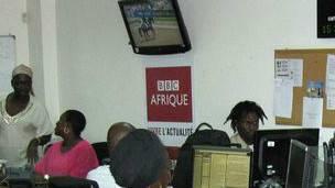 Le 21 juin 2010, BBC Afrique est à Dakar